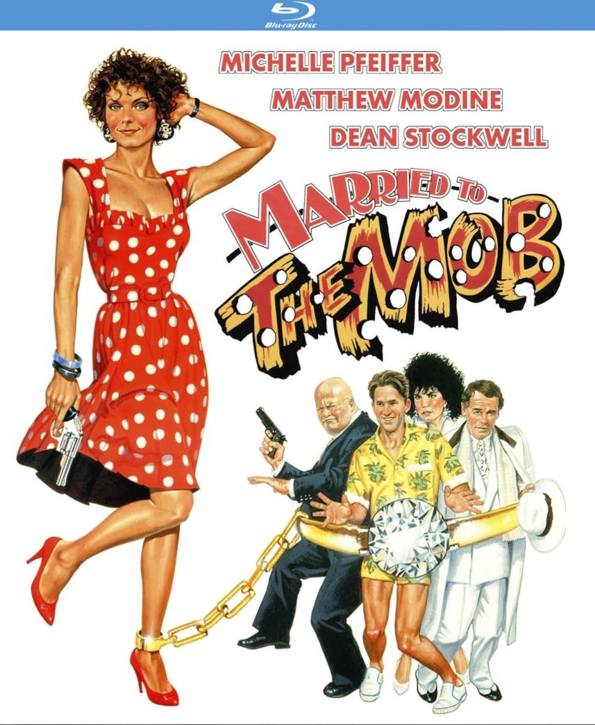 Blu-ray : Married To The Mob (Blu-ray)