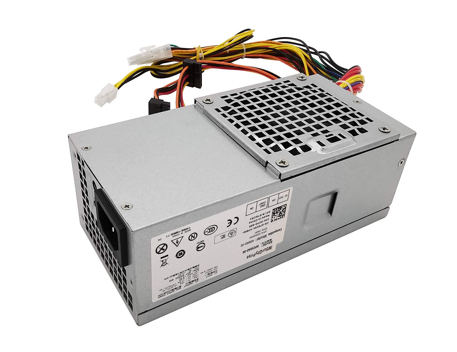 D250AD-00 H250AD-00 250W Power Supply Compatible with Optiplex 390 790 990 3010 Inspiron 537s 540s 545s 546s 560s 570s 580s 620s Vostro 200s 220s 230s 260s 400s Studio 540s 537s 560s Slim DT Systems by IMSurQltyPrise