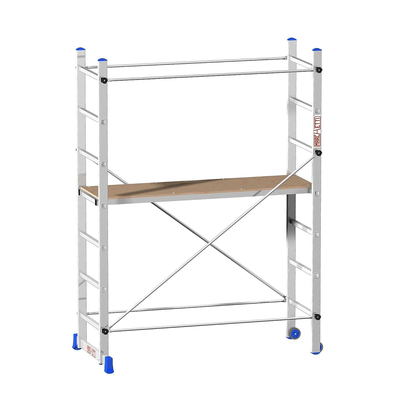 /Échafaudage du plan de travail 1,15/m Marchetti 20783/Superminio hauteur max
