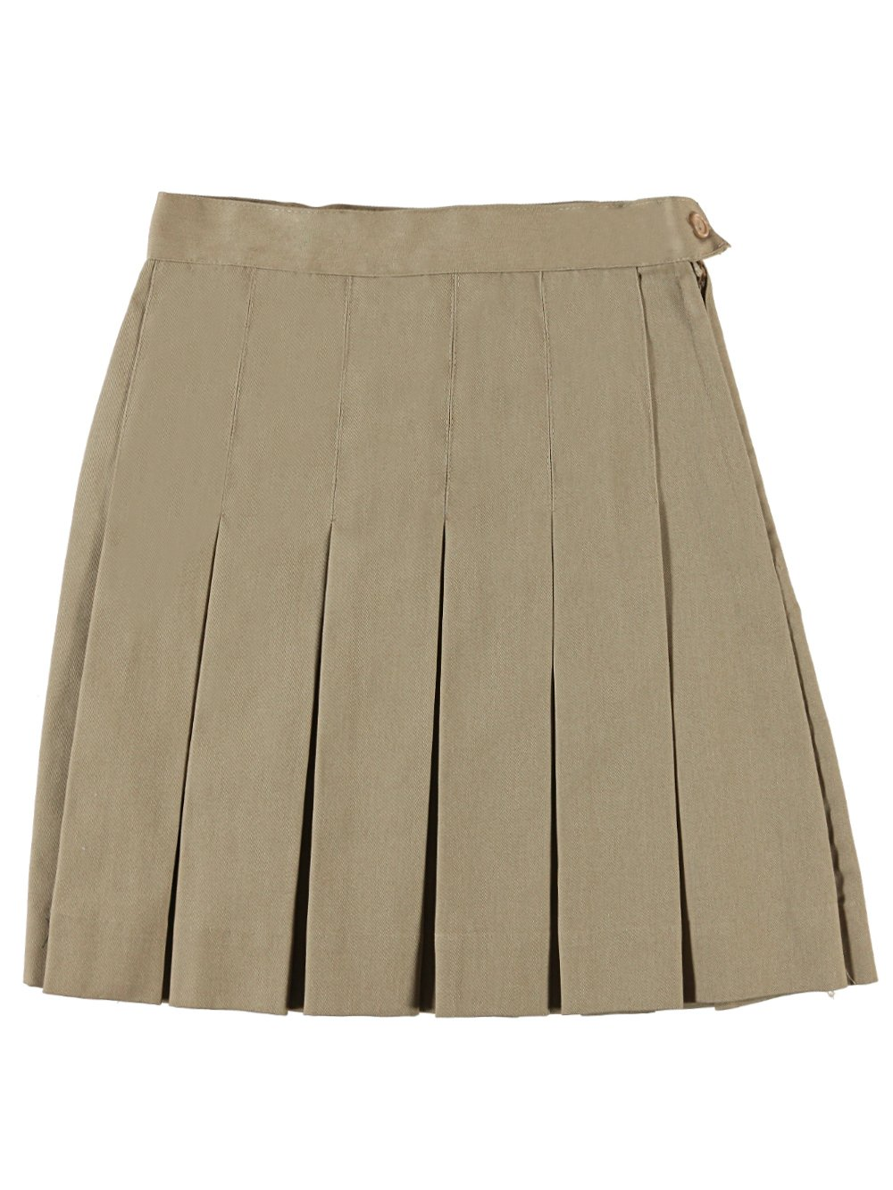 Cookie's Brand Big Girls'''Cassie'' Pleated Skirt - khaki, 7