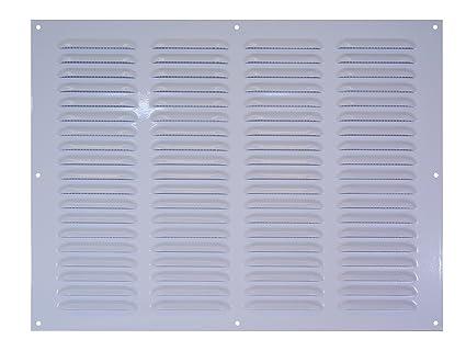 Metal de la rejilla de colour blanco 400 x 400 mm: Amazon.es ...