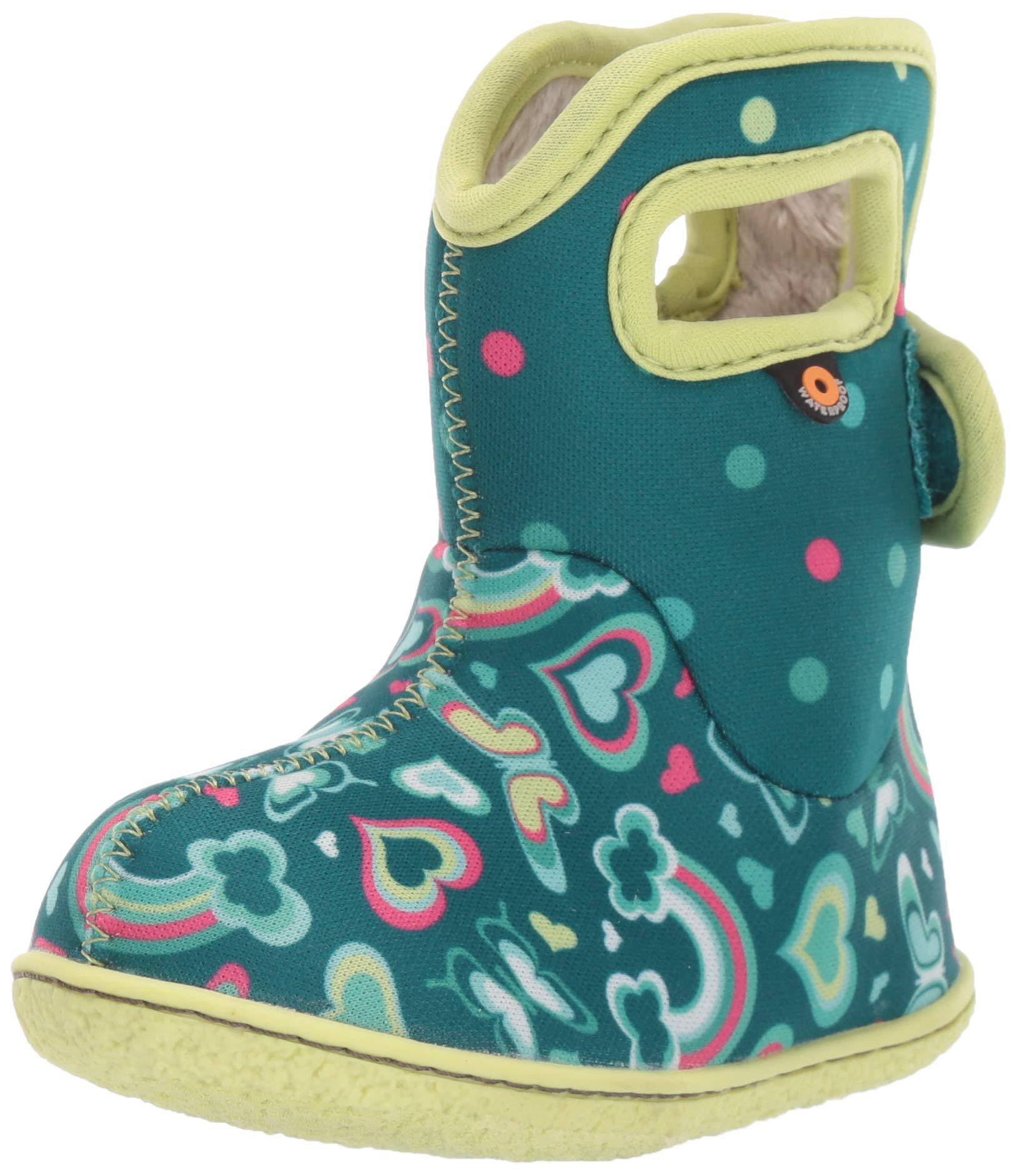 BOGS Kids' Baby Waterproof Insulated Crib Shoe