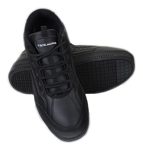 Non Skid Slip Resistant Work Shoes MED