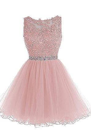 quality design b1504 21f8d Sweetylife Abschlusskleider Kurz A Linie Abendkleider Ballkleider Party  Kleid N002