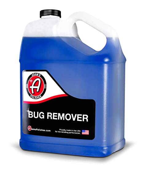 Adam S Bug Remover Gallon Effectively Remove Bug Guts From Car Paint Windows Or Bumper Parts Accessories After Travel Road Trip Spray During