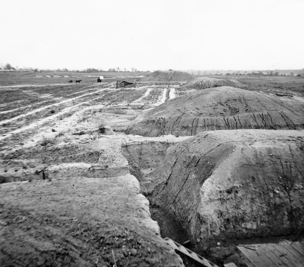 Petersburg , Va – Fort In Petersburg Civil War写真 36 x 54 Giclee Print LANT-21113-36x54 36 x 54 Giclee Print  B01MG3FT58