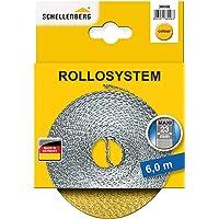 Schellenberg 36006 rolluikriem 23 mm x 6 m - systeem MAXI, rolluikriem, riem, rolluikband