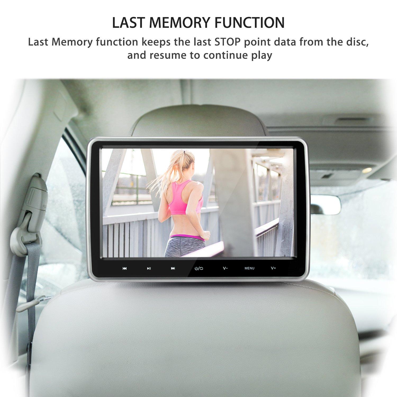 amazon com naviskauto 10 1 tablet style ultra thin car headrest