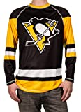 NHL Men's Game Day Long-Sleeve Performance Loose Fit Rash Guard