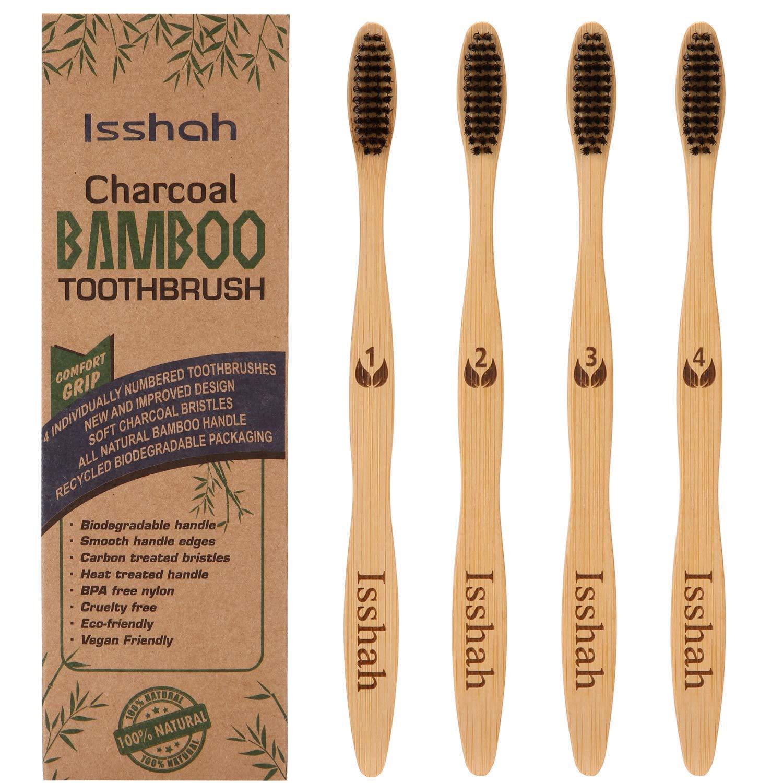 Amazon.com : Biodegradable Eco-Friendly Natural Bamboo Charcoal ...