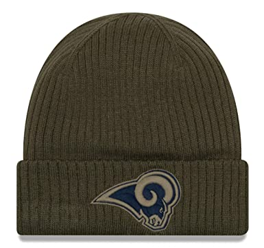 New Era Los Angeles Rams 59fifty Basecap On Field 2018 Salute to Service