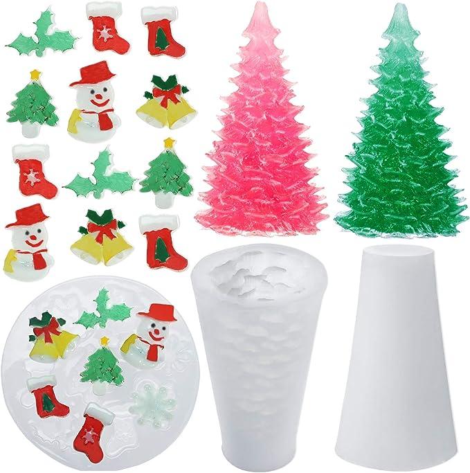 Santa/'s Village Silicone mold
