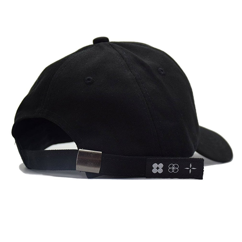 BTS Embroidery Rings Baseball Cap for Women Men K-Pop Hip Hop Bangtan Boys  Casual Adjustable ... b558f15aea24