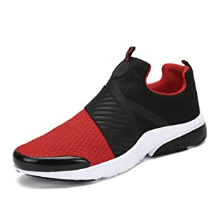 Mishansha Men Women Fashion Sneakers Breathable Mesh Comfortable Lightweight Walking Shoes Slip-On Running Soft