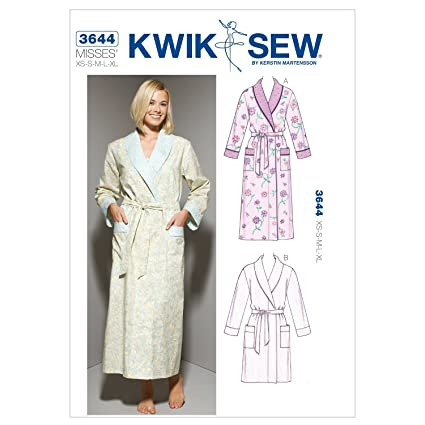 Amazon.com  Kwik Sew K3644 Robes Sewing Pattern 280fc7b68