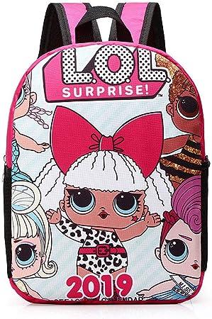 Surprise L.O.L Sac a Dos Poup/ées Lol Confetti Pop pour Petite Fille Cartable Primaire Enfant