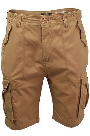Mens Cargo Shorts by Firetrap 'Nolin' (Tobacco) 30