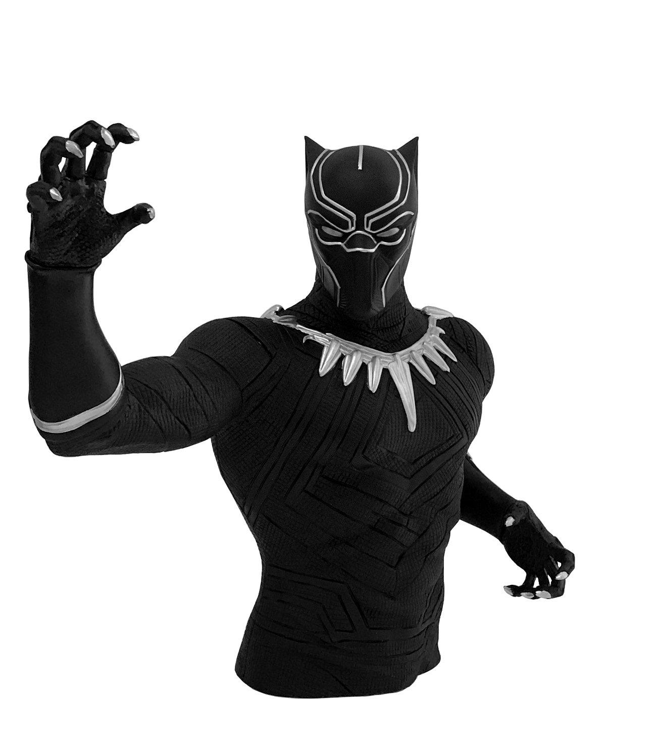 Marvel Black Panther Bust Bank Action Figure