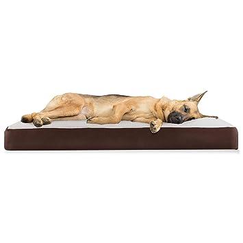 Amazon.com: Furhaven - Cama para mascotas con colchón de ...