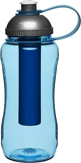 Azul Botella con pist/ón de Hielo Color Sagaform