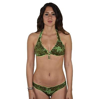 1stAmerican 2019 Bañador Bikini Mujer de Dos Piezas para la Playa: Ropa y accesorios