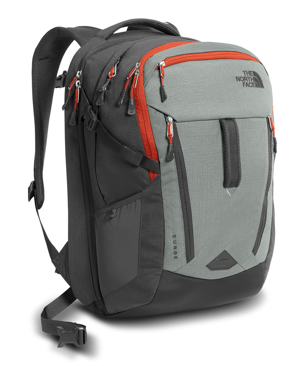 The North Face Surge Backpack Sedona Sage Grey / Asphalt Grey