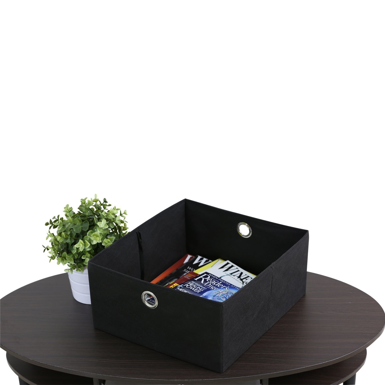 Amazon FURINNO WNBK Jaya Simple Design Oval Coffee Table