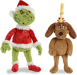 "Aurora Bundles of 2: 19"" Santa Grinch with His Dog Max (15900 + 15902)"