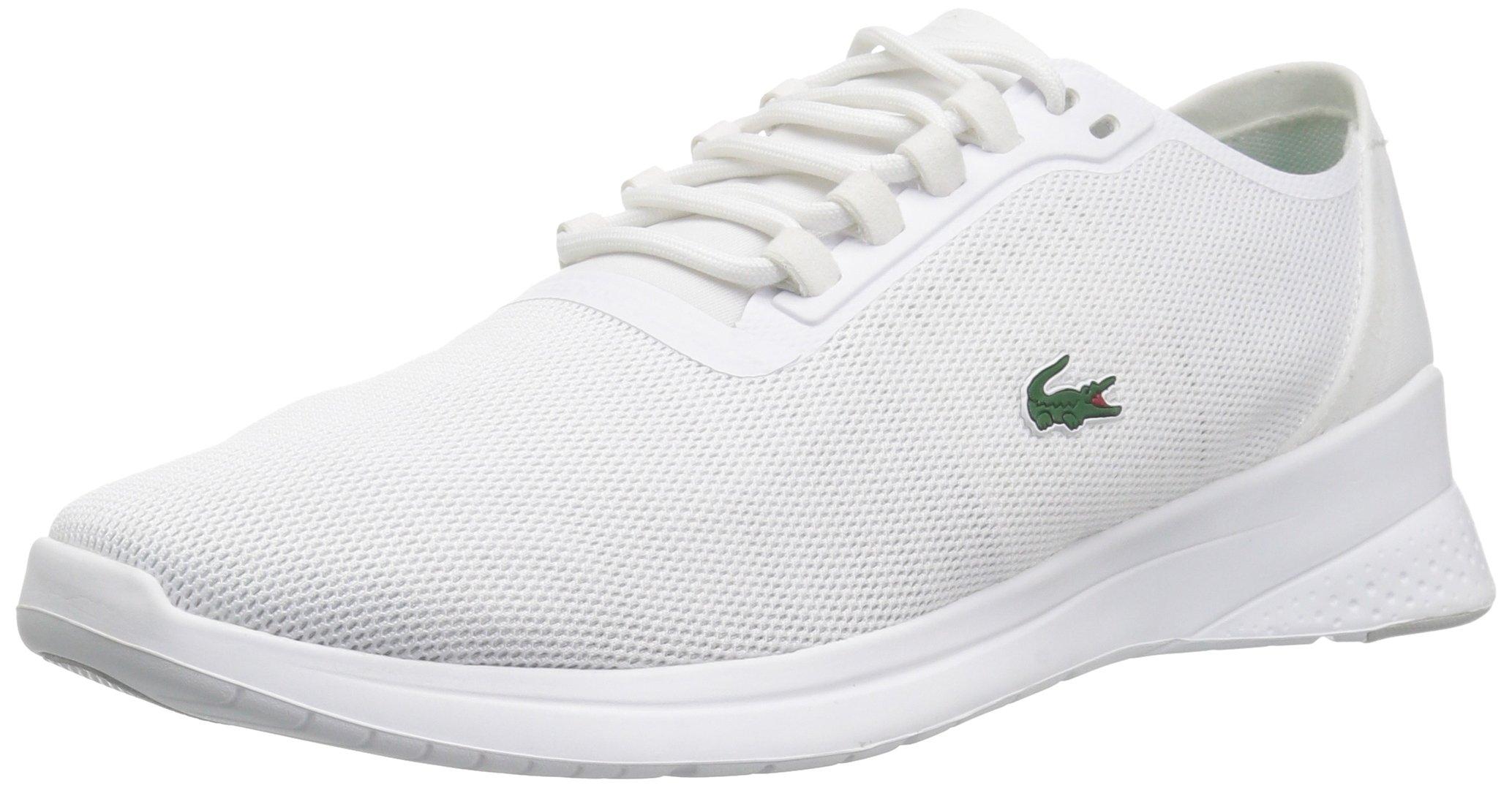 Lacoste Women's LT FIT 118 4 SPW Sneaker White, 10 M US