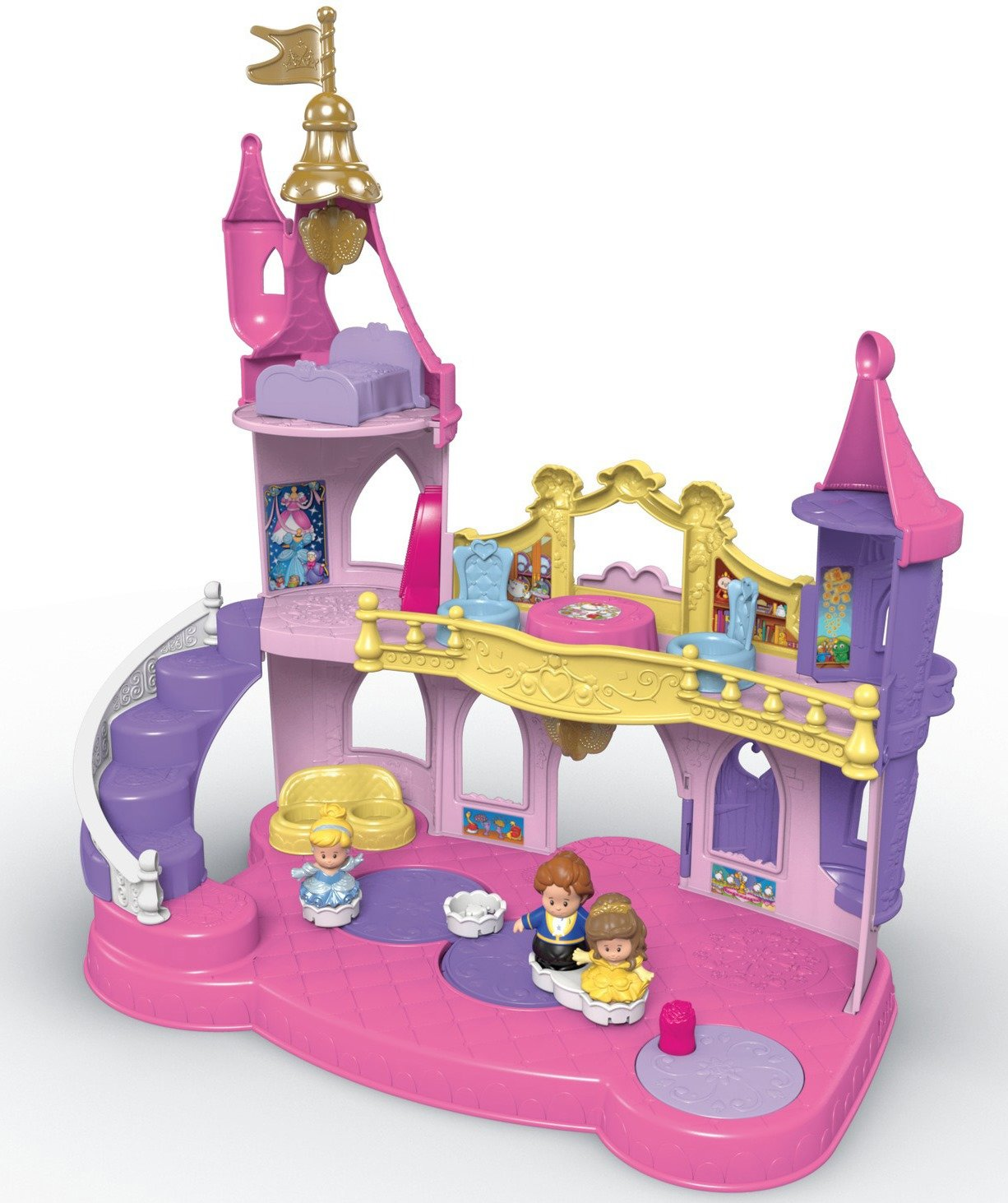 Fisher-Price Little People Disney Princess, Musical Dancing Palace by Fisher-Price (Image #4)