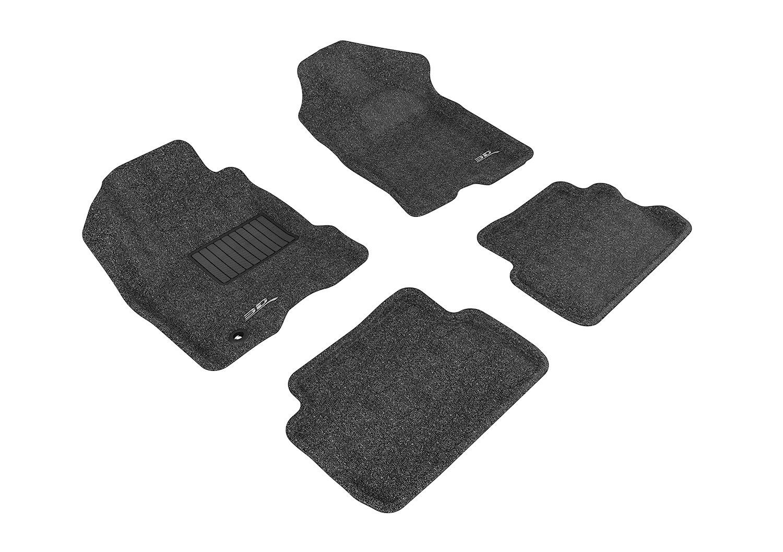 Classic Carpet Tan 3D MAXpider Second Row Custom Fit Floor Mat for Select Ford Focus Models L1FR01622202