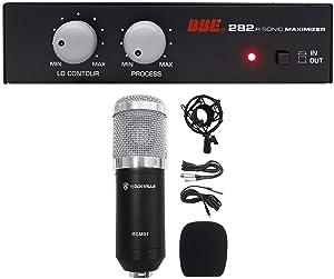 BBE 282IR Desktop Sonic Maximizer w/RCA Inputs/Outputs+Recording Mic+Shockmount