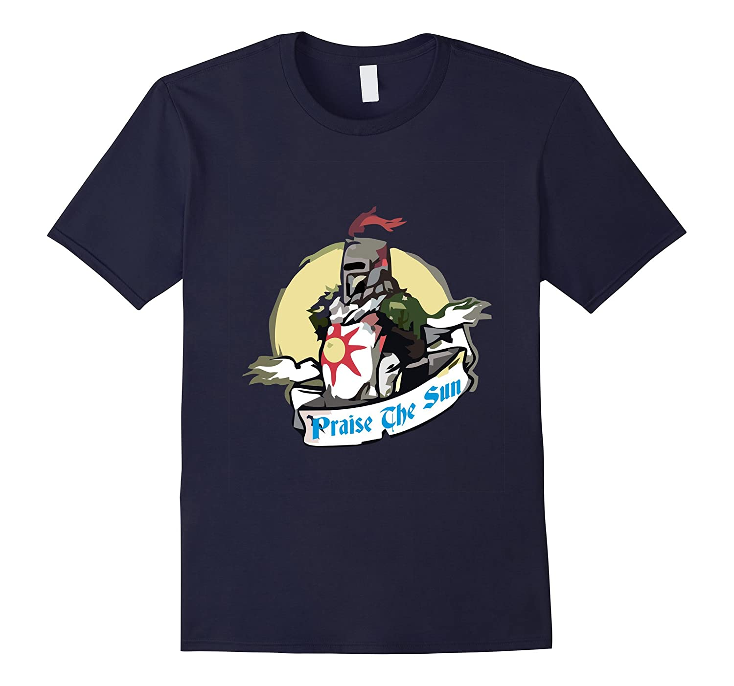 Praise T shirt The Sun Dark knight soul-TD