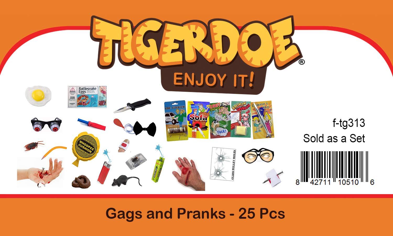 Tigerdoe Prank Kit - Prankster Gifts - Practical Joke Set - Jokes and Gags - 25 PC Prank Pack by Tigerdoe (Image #2)