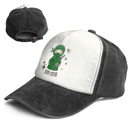Amazon.com: Fashion Vintage Hat Irish Ninja with Shuriken ...