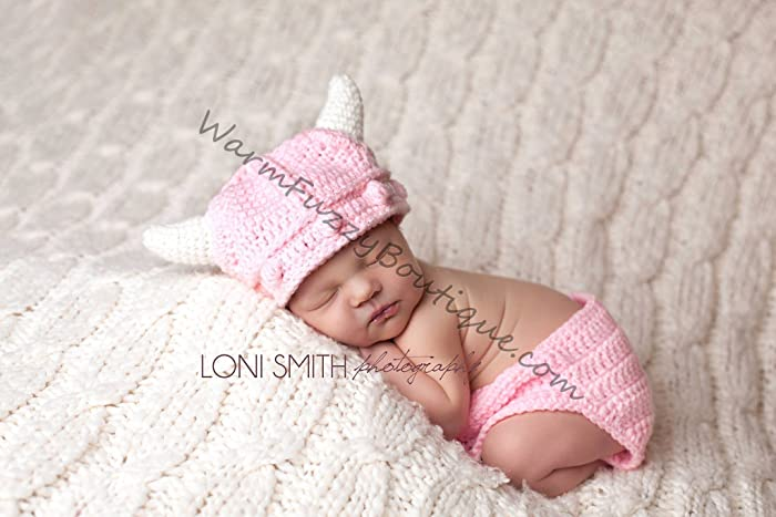 970d30cf5b8 Amazon.com  Lael Viking Hat   Diaper Cover  Handmade