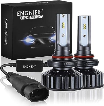 V16 9006 HB4 80W 9600LM CREE Turbo Car LED Headlight Bulbs Conversion Kit 6000K
