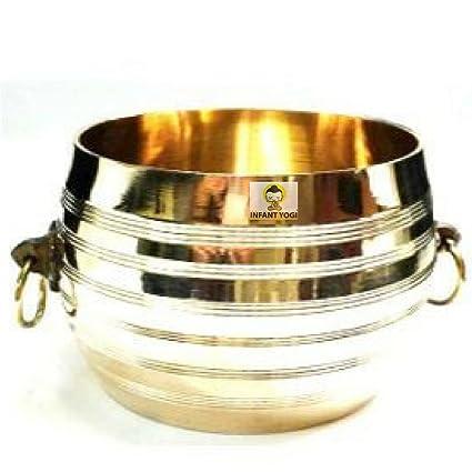 Buy Infant Yogi Kerala Handicraft Brass Para Traditional Measuring