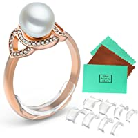 Ring Size Adjuster For Loose Rings for Any Rings Ring Size Reducer Spacer Ring Guard (Insert(8pcs-8Sizes)