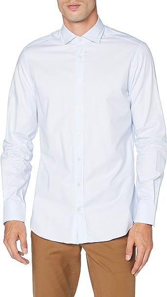 Hackett London Ox Ticking Eng Str Camisa para Hombre: Amazon.es: Ropa y accesorios