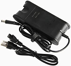19.5V 4.62A PA-10 PA10 AC Adapter Power Charger Compatible with Dell Latitude E6500 E6400 E4200 E4300 E4310 E5400 90W, Dell N5110 N5030 PA-1900-02D PA-1900-05D 7.4x5.0mm with Power Cord