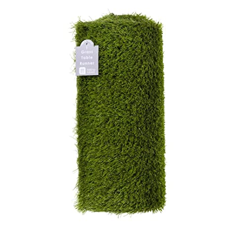 Beautiful Talking Tables Artificial Grass Table Runner For Game Day, Easter,  Birthdays U0026 Weddings,