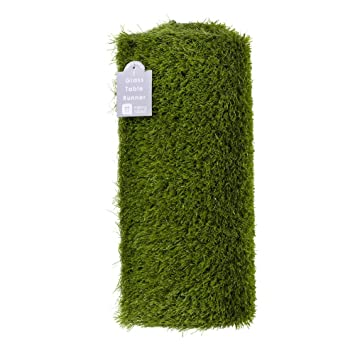 Talking Tables Artificial Grass Table Runner For Game Day, Easter,  Birthdays U0026 Weddings,