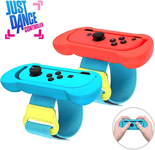Just Dance 2020 - Muñequera para Nintendo Switch, correa elástica ...