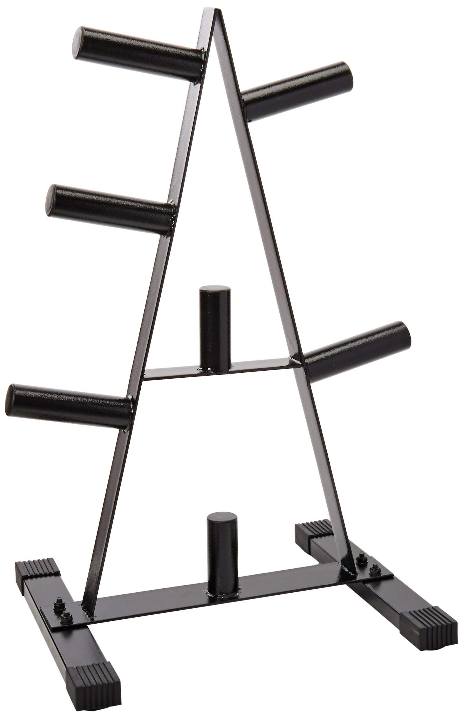CAP Barbell Olympic 2-Inch Plate Rack (Certified Refurbished)