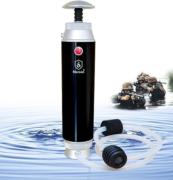 GEERTOP Diercon Filtro de Agua Purificador Portátil 50000L 99.9999 ...
