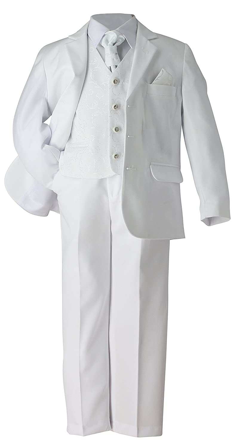 Boutique Costume Ceremony boy Christening Communion White, Ivory Black Product – in Stock and Shipped from France
