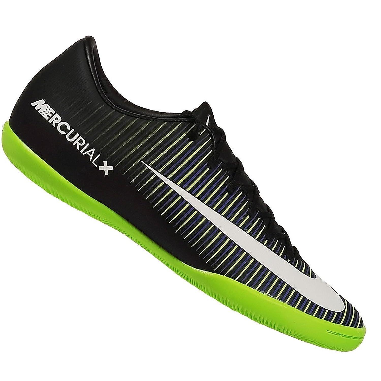 367326ad8b6b hot sale 2017 Nike Jr Mercurial Vapor XI IC Indoor Soccer Shoe (Black, Green.