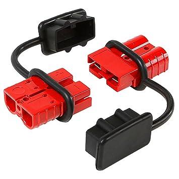 Batería de conexión y desconexión rápida, enchufe eléctrico de calibre 6-10, 75 amperios, para Cabrestante de recuperación o ATV Quad: Amazon.es: Coche y ...