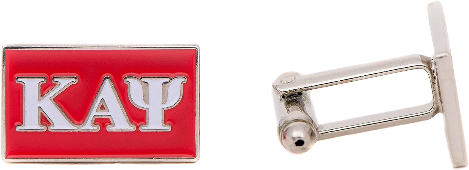 Desert Cactus Kappa Alpha Psi Fraternity Letter Cufflinks Greek Formal Wear Nupe